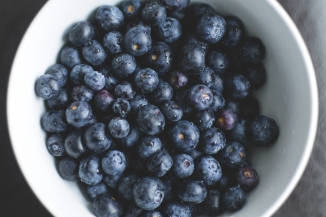 Canva - Blueberries in a Bowl
